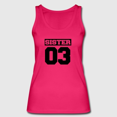 Sister brother family - Women's Organic Tank Top by Stanley & Stella