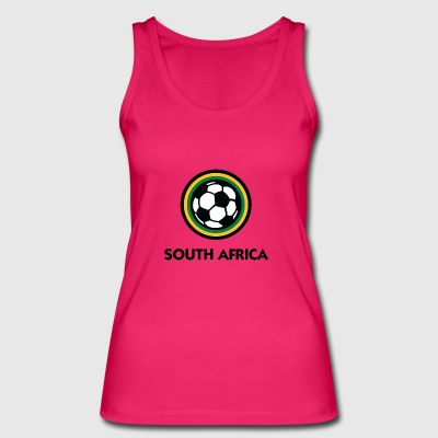 South Africa Football Emblem - Women's Organic Tank Top by Stanley & Stella