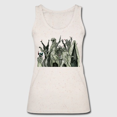Then the forest sang to me - Women's Organic Tank Top by Stanley & Stella