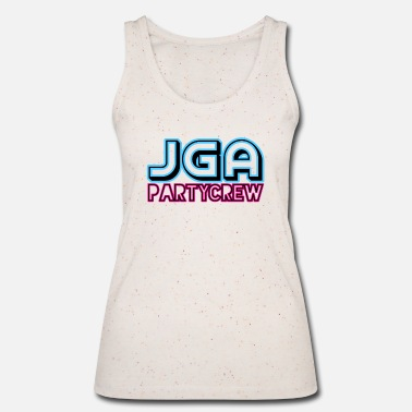 Bachelor party party crew - Women's Organic Tank Top