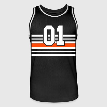 number one - Men's Basketball Jersey