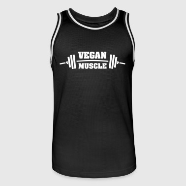 Vegan Muscle - Men's Basketball Jersey