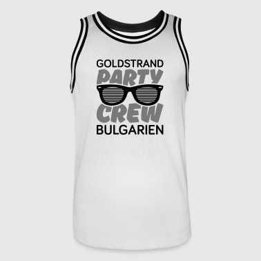 party crew goldstrand - Männer Basketball-Trikot