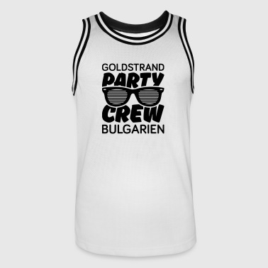 goldstrand party crew - Männer Basketball-Trikot