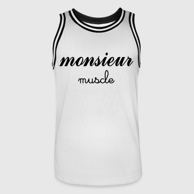 Monsieur Muscles Monsieur Muscle - Maillot de basket Homme