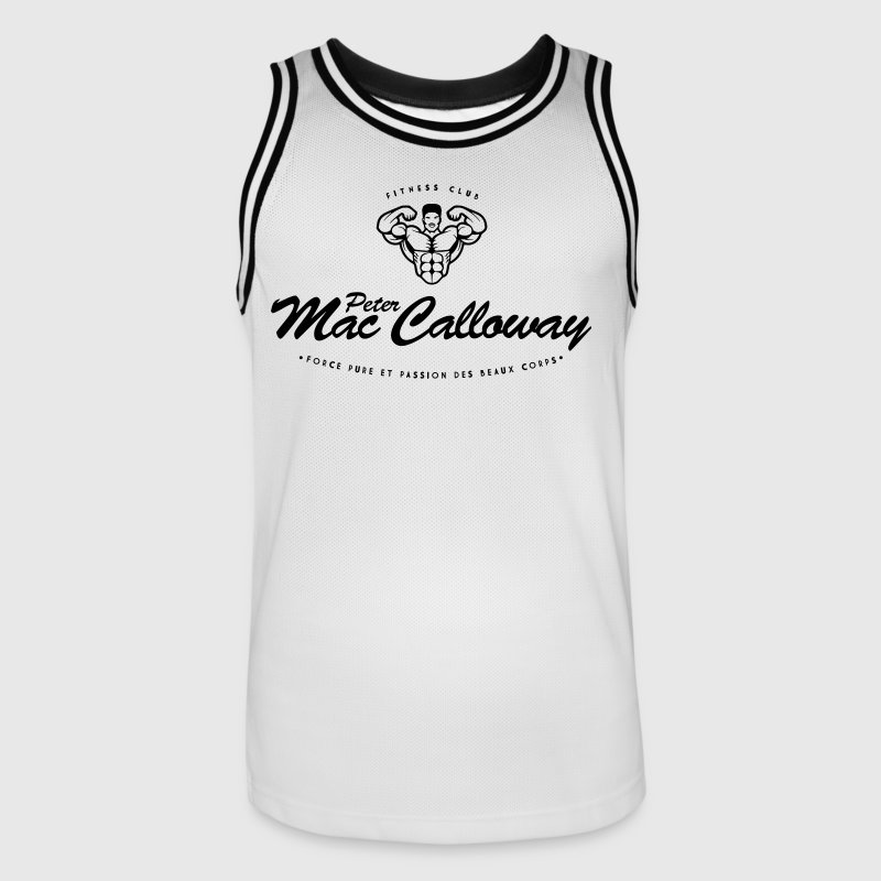 Peter Mac Calloway Fitness Musculation - Maillot de basket Homme