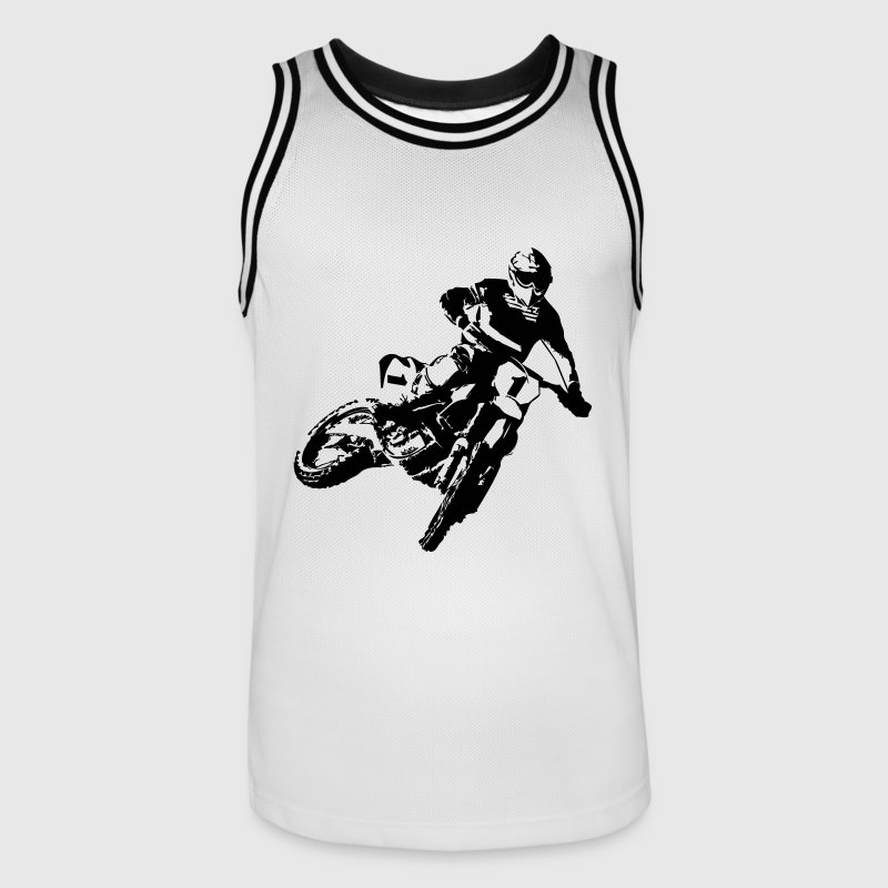 MotoCross - Men's Basketball Jersey