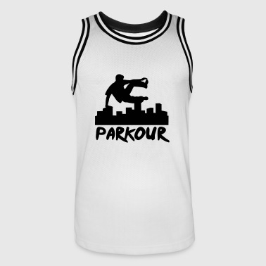 Free running in the city, parkour - Maillot de basket Homme