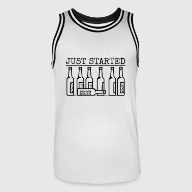 juststarted - Men's Basketball Jersey