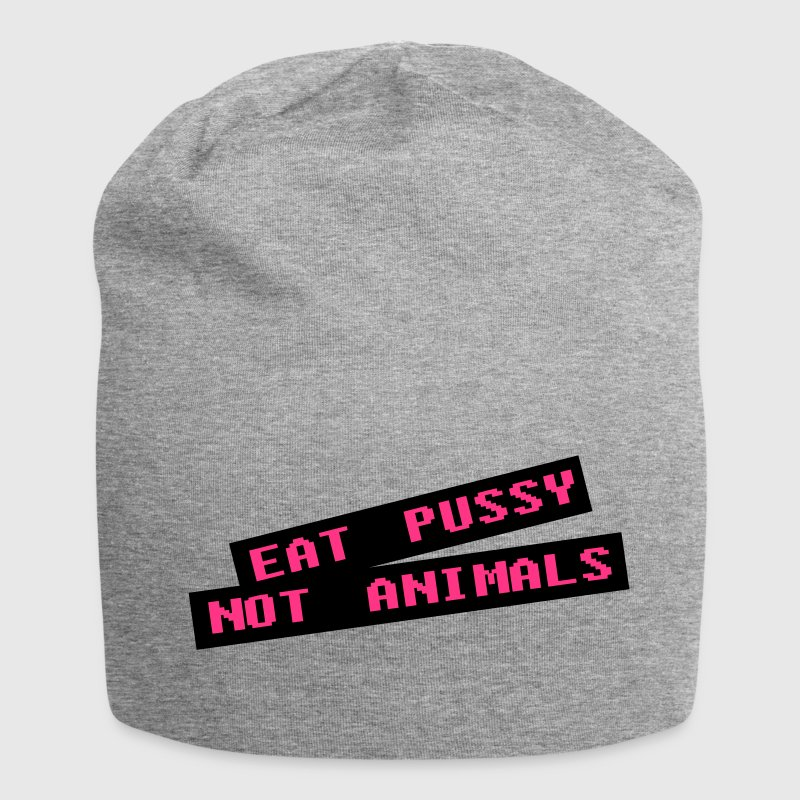 Eat pussy not animal - Vegan - Jersey-Beanie