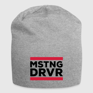 Mustang Driver - Jersey Beanie