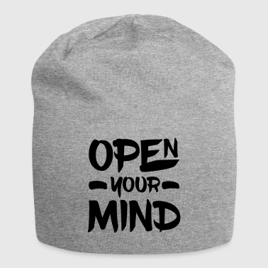 Open Your Mind - Bonnet en jersey