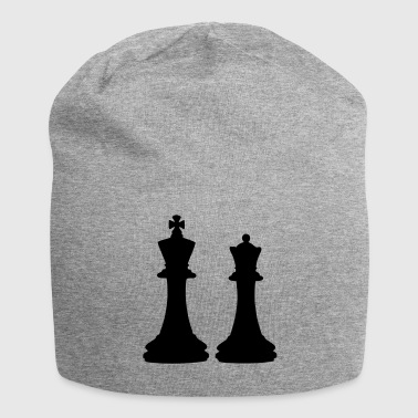 Chess King & Queen - Bonnet en jersey
