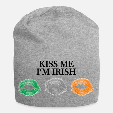 Kiss Me Im Irish KISS ME I'M IRISH Kussmünder Flagge Irland - Beanie