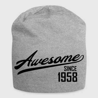 1958 Awesome Since 1958 - Jersey Beanie