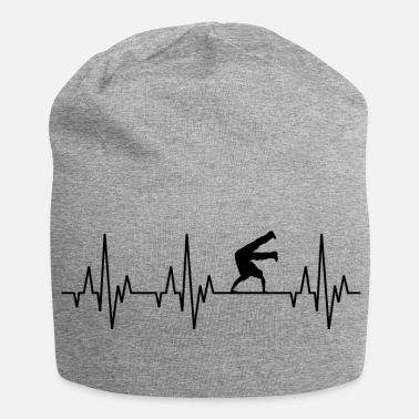 Breakdance Heartbeat ECG Breakdance Breakdance Hip-Hop - Bonnet en jersey