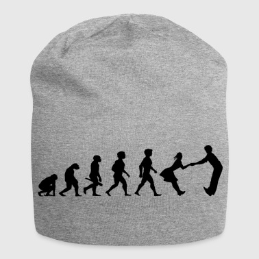 Dance-music Evolution dancing dance couple music dance music - Jersey Beanie