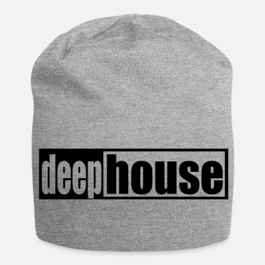 House Techno - House - Deep House - Beanie in jersey