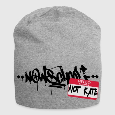 Now-School - Hello my name is not Kate (Red) - Jersey Beanie