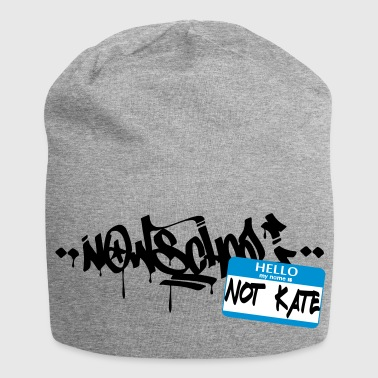 Now-School - Hello my name is not Kate (Blue) - Jersey Beanie