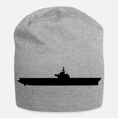Navy Vector Navy warship Silhouette - Beanie