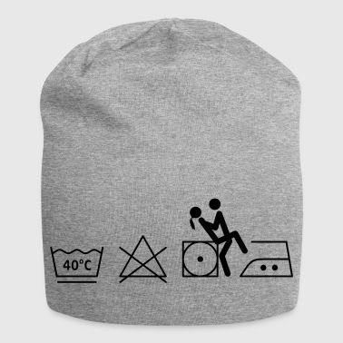 Sex on the washing machine - Jersey Beanie