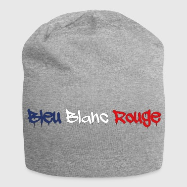 BLAUWE WIT RODE TAGG - Jersey-Beanie