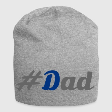 #Dad - Beanie in jersey