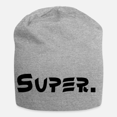 Super Super. - Beanie in jersey
