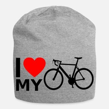 Road Bike Bicycle road bike bike ride - Jersey Beanie