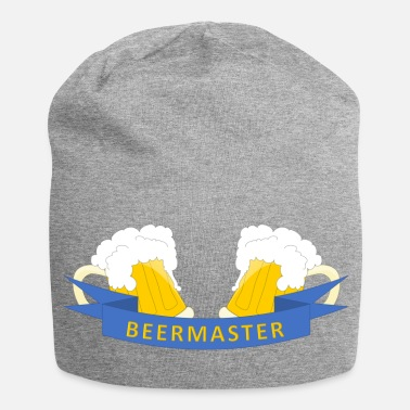 Beermaster - the king of beer funny gift - Jersey Beanie