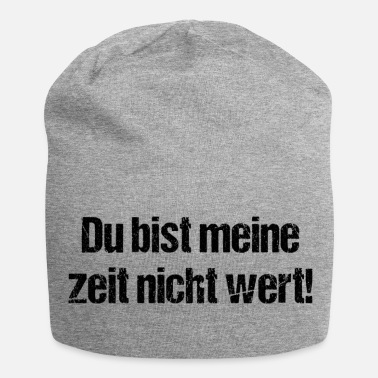 Provokant Provokanter Spruch - Jersey-Beanie