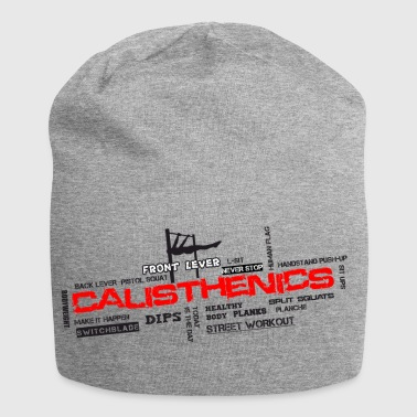 CALISTHENIS - Word Cloud - Jersey Beanie