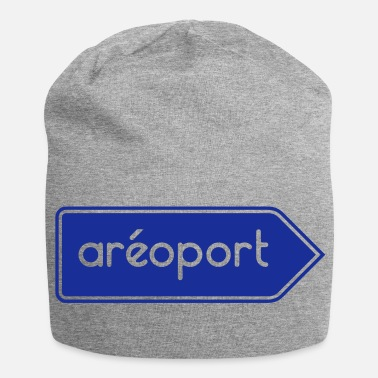 Airport Airport Airport - Customizable - Jersey Beanie