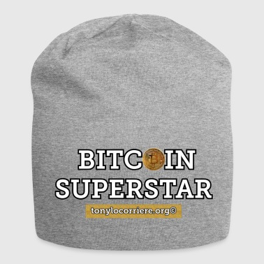 bitcoin superstar - Jersey-beanie