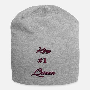 King Queen King # 1 Queen - Bonnet en jersey