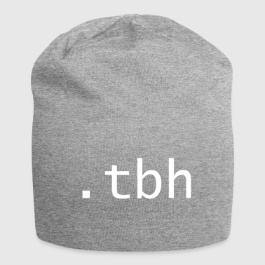 tbh - To be honest - Jersey Beanie