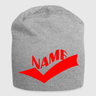 NAME - Jersey-Beanie