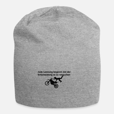 Motivation Motivation with motive - Jersey Beanie