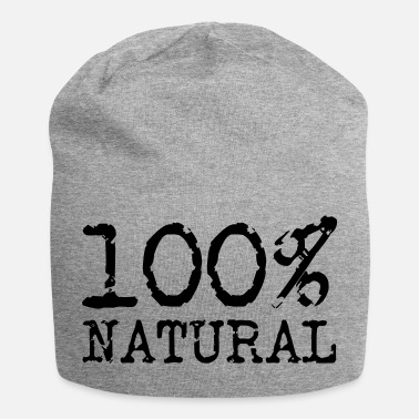 Naturellement 100% naturel - 100% naturel - Bonnet en jersey
