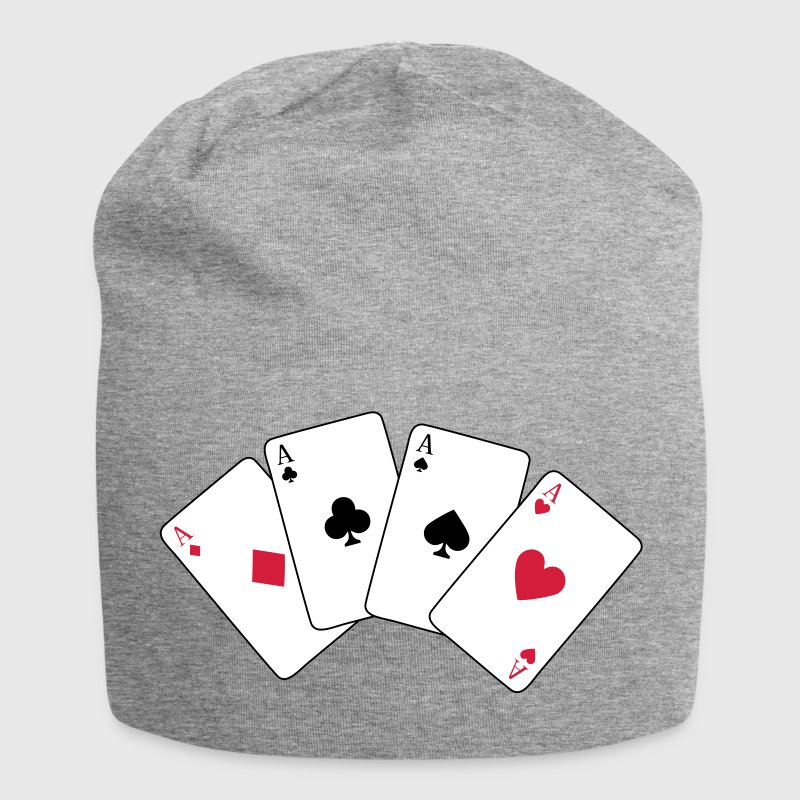 Card Game, Poker, Ace - Gorro holgado de tela de jersey