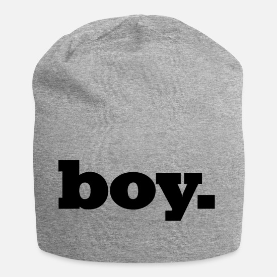Gift Idea Caps & Hats - Boy / boy / men / teen - Beanie heather grey