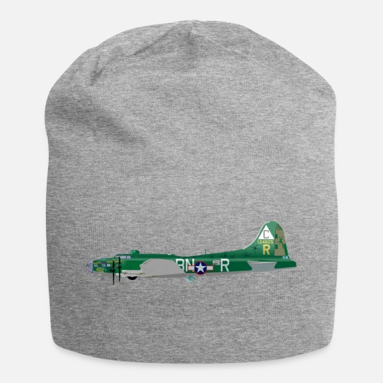 Fighter Jet Caps & Hats - fighter aircraft - Beanie heather grey