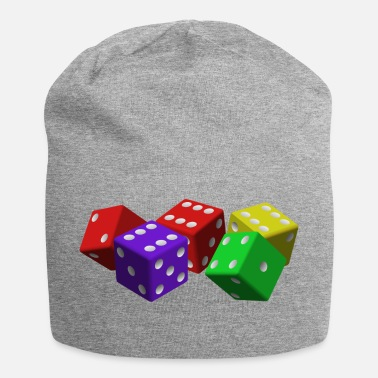 Rubiks Cube cube - Jersey Beanie