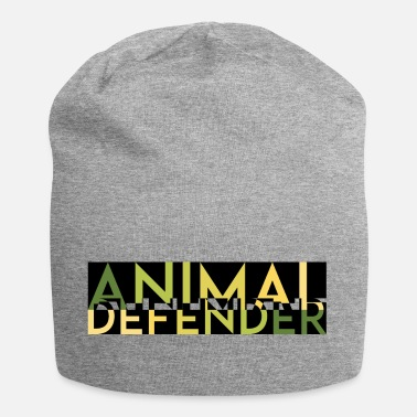 Animal Rights ANIMAL DEFENDER MELT green - Jersey Beanie