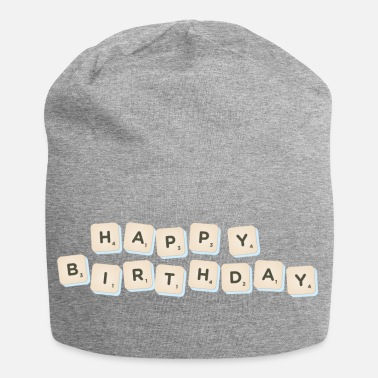 Happy Birthday Happy Birthday Scrabble - Beanie
