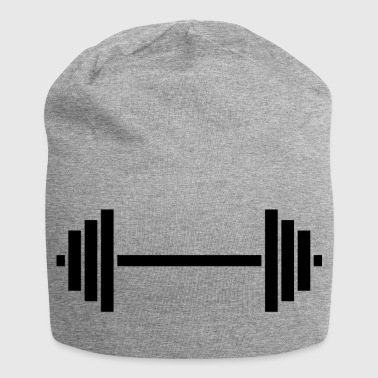 weight lifting - Jersey Beanie