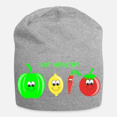Vegetables Vegetable fruits healthy diet - Jersey Beanie