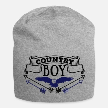 Country Country Boy - Beanie in jersey