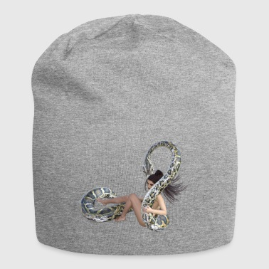 Serpent with wife - Jersey Beanie